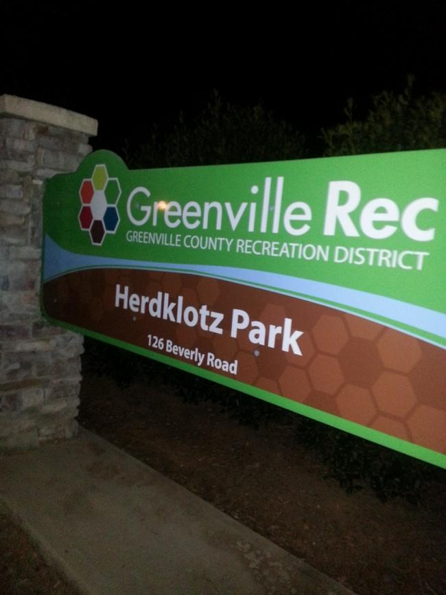Herdklotz park investigation, Greenville SC